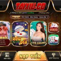 TaiXiu.Co – Game Bài Tài Xỉu Xanh Chín Số 1